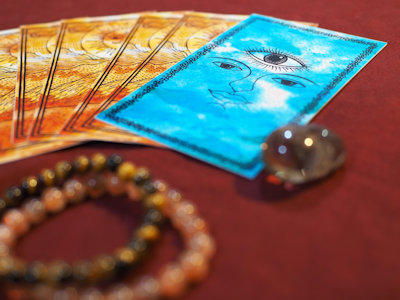 Tarot Oracle card